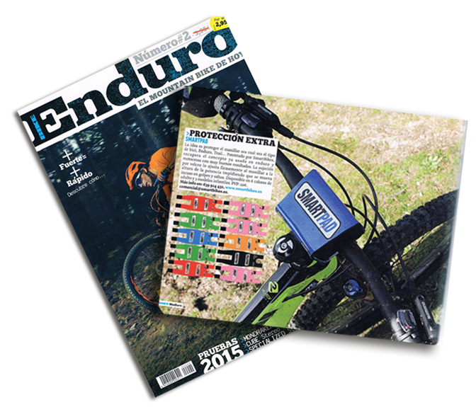 SmartPad en Bike Enduro