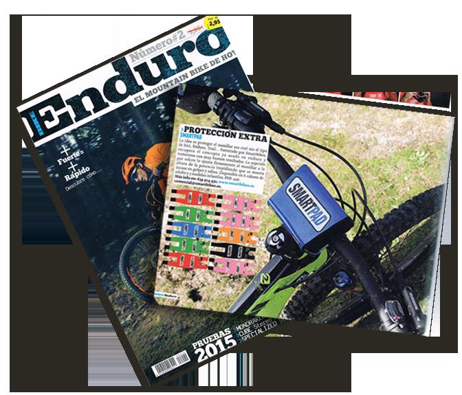 SmartPad en Bike Enduro